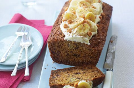 A simple Banoffee fudge loaf recipe for you to cook a great meal for family or friends. Buy the ingredients for our Banoffee fudge loaf recipe from Tesco today.