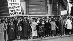 Droit de vote des femmes en France 21 avril 1944