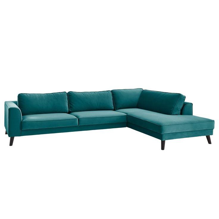 ecksofa venus bay samt ottomane davorstehend rechts petrol fredriks jetzt bestellen unter. Black Bedroom Furniture Sets. Home Design Ideas