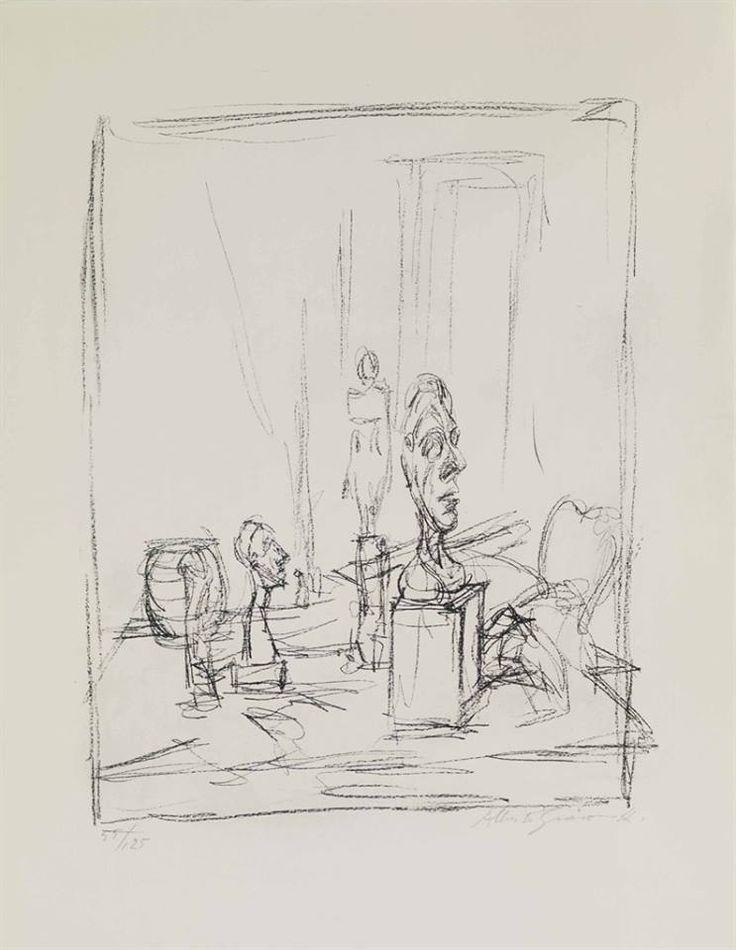 Alberto Giacometti (1901-1966) L'Atelier, 1956