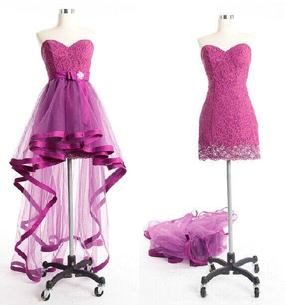 Charming Homecoming Dresses,high low Graduation Dresses ,High Low