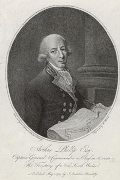 Arthur Phillip, by William Sherwin, 1789