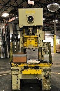 60 Ton Capacity Aida Gap Frame Press For Sale