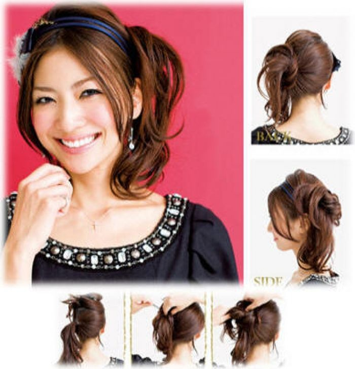 Long Hair Style S Pony Hairstyles For Long Hair New 2013 Hairstyles Hair Long Prom Korean S In 2020 Simple Prom Hair Elegant Hairstyles Side Bun Hairstyles