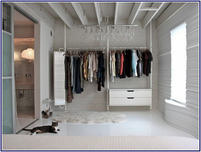 Exotic Walk In Closet Design Ikea
