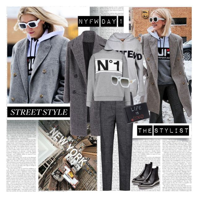 New York Fashion Week Day1 the Stylist by stylepersonal on Polyvore featuring polyvore, fashion, style, Être Cécile, N°21, 3.1 Phillip Lim, Prada, Gucci, clothing, StreetStyle and NYFW
