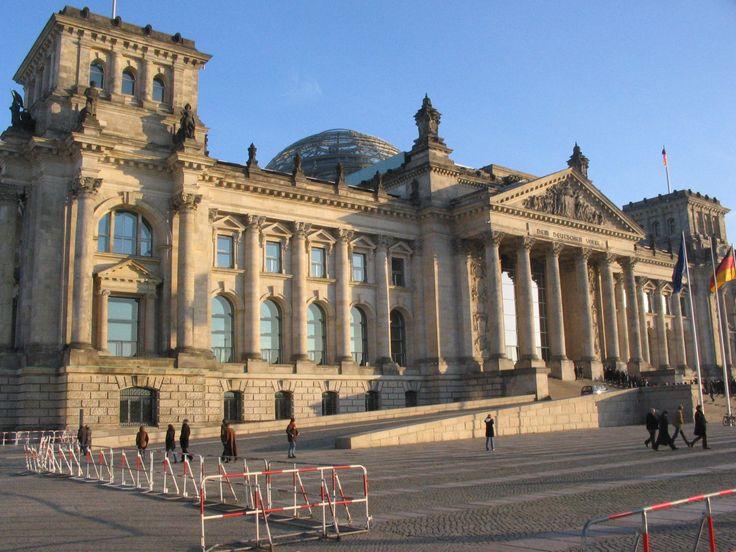 Plaza del Parlamento alemán, Berlín
