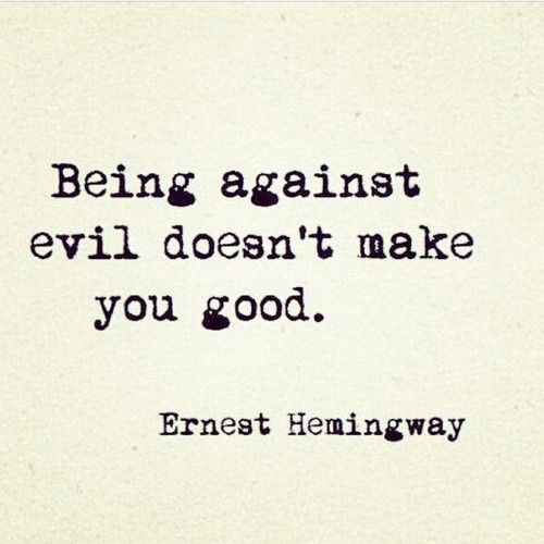 My very own hard lesson learned.   Just because I'm against your kind of sinning does not make my mouth ok...