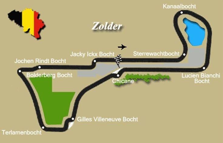 Circuit Zolder map, Heusden home contact, motorsport news