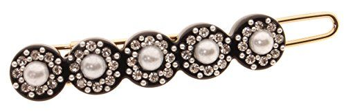 L Erickson Rodeo Drive Tige Boule Barrette  BlackCrystalPearl * Details can be found by clicking on the image.Note:It is affiliate link to Amazon.