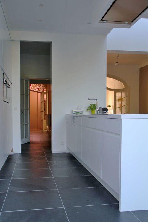 25 best ideas about leisteen keuken op pinterest leistenen vloer keuken leistenen vloer en - Italiaanse imitatie vloertegel ...