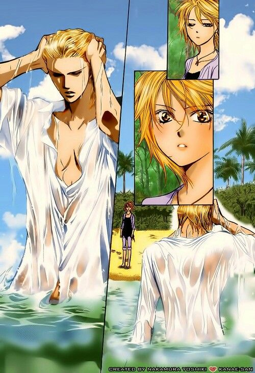 Kyoko and Kuon from the manga Skip beat! (via tumblr)