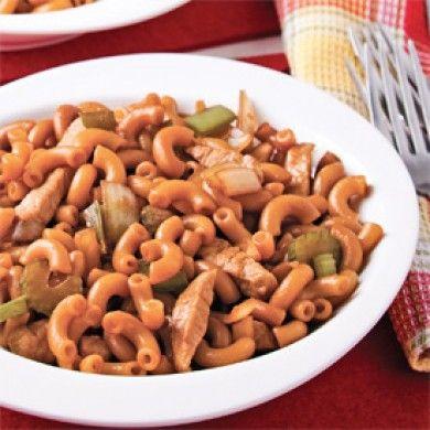 Nouilles chinoises au porc - Soupers de semaine - Recettes 5-15 - Recettes express 5/15 - Pratico Pratique