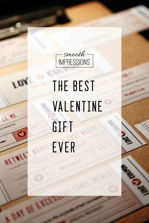 Fun Love Coupon Book Boyfriend Gift Valentines Day Husband Gift Gift For  Her Printable Coupons Anniversary