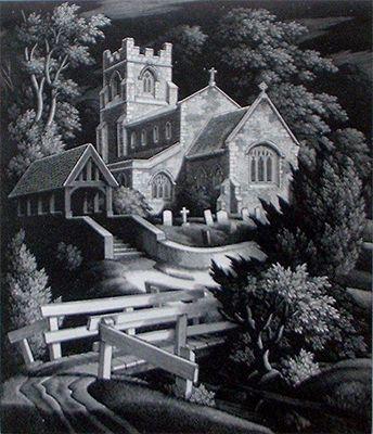 George Mackley (1900-1983)  Wood Engraving
