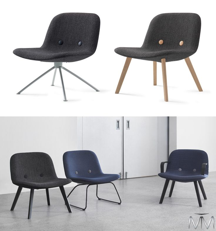 Eyes is unmistakably unique thanks to its warm narrative. Available with or without armrests and with either wooden legs or a steel frame.  #ErikJorgenson #WorkplaceDesign #OfficeDesign #InteriorDesign #FurnitureDesign #DesignInspiration #CorporateInteriors #mtmsolutions
