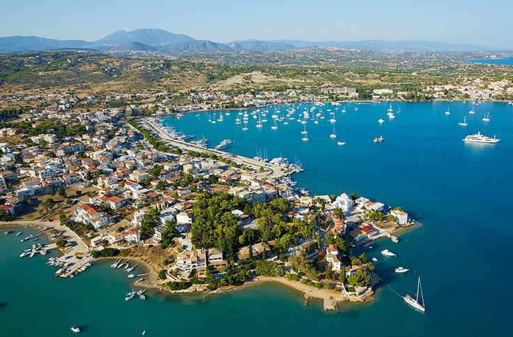 Porto Heli is a lovely wedding destination in Greece.