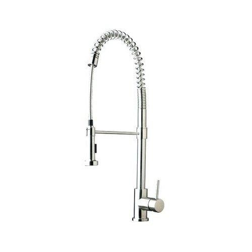 $914 Amazon.com: Sheffield STK-345RSS Bianca Stainless Steel Gooseneck Single: Home Improvement
