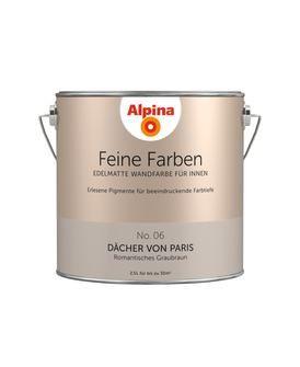ALPINA Farbe »Alpina Feine Farben Dächer Von Paris«, 2,5 L,