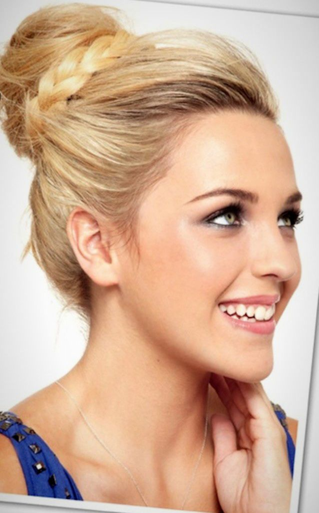 20 5-Minute Hairdos That Will Transform Your Morning Routine via Brit + Co.