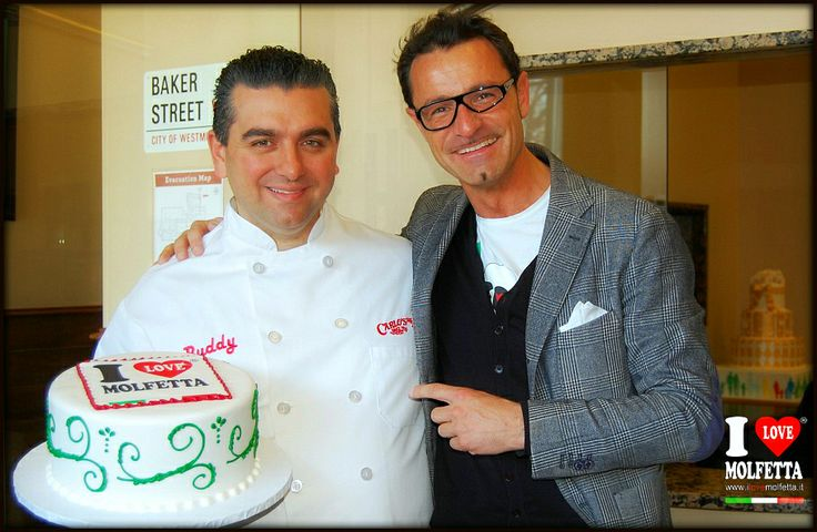 is one of the greatest gifts, because the larger one is your affection, arrived by Buddy Valastro, the Cake Boss mythical, the King of Cakes that he has spent a spectacular, believe, really yummy birthday cake: Happy Bday I Love Molfetta. Roberto Pansini business-man www.ilovemolfetta.it