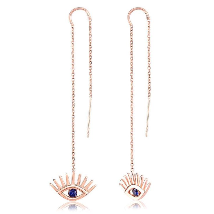 Evil Eye 925 Silver Earring