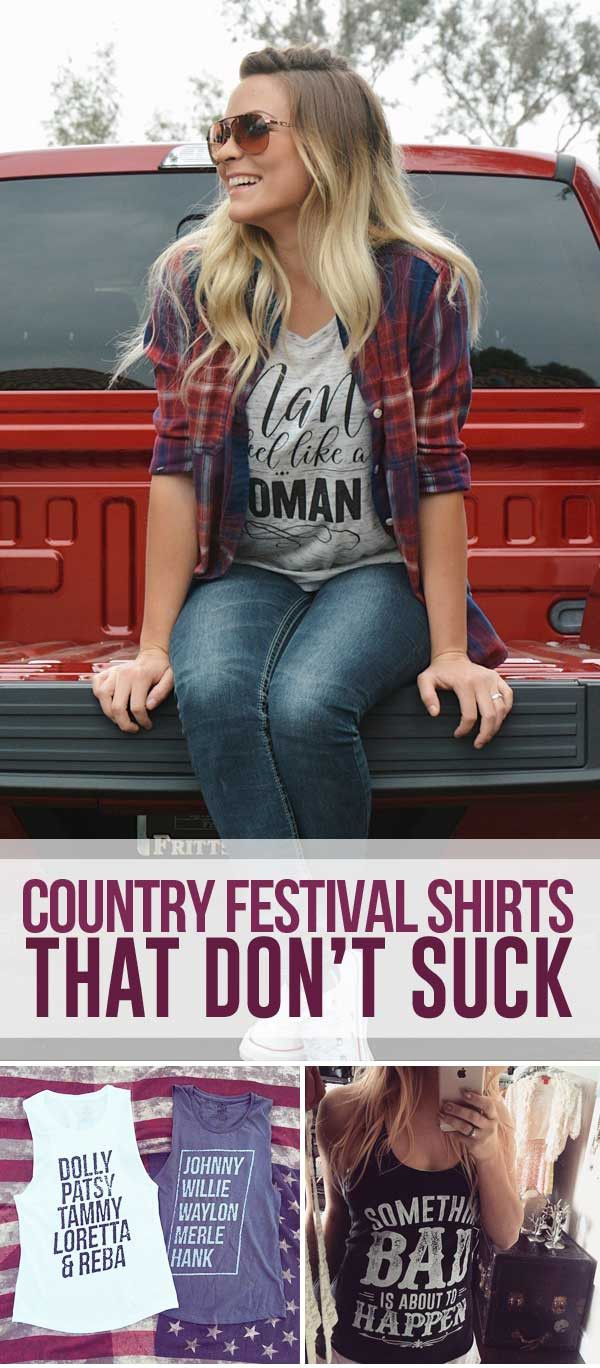 Find the perfect shirt for the concert with us! Unique designs, flattering fits, Free shipping on all orders, plus our 100% happiness guarantee! ♥