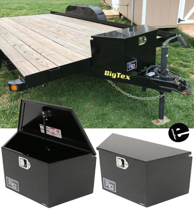 Rc Manufacturing T Series Trailer Tongue Toolbox A Frame Steel