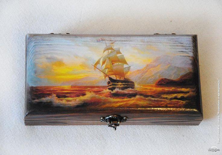 Купюрница «Золотой закат» Автор: Татьяна Блохнина
