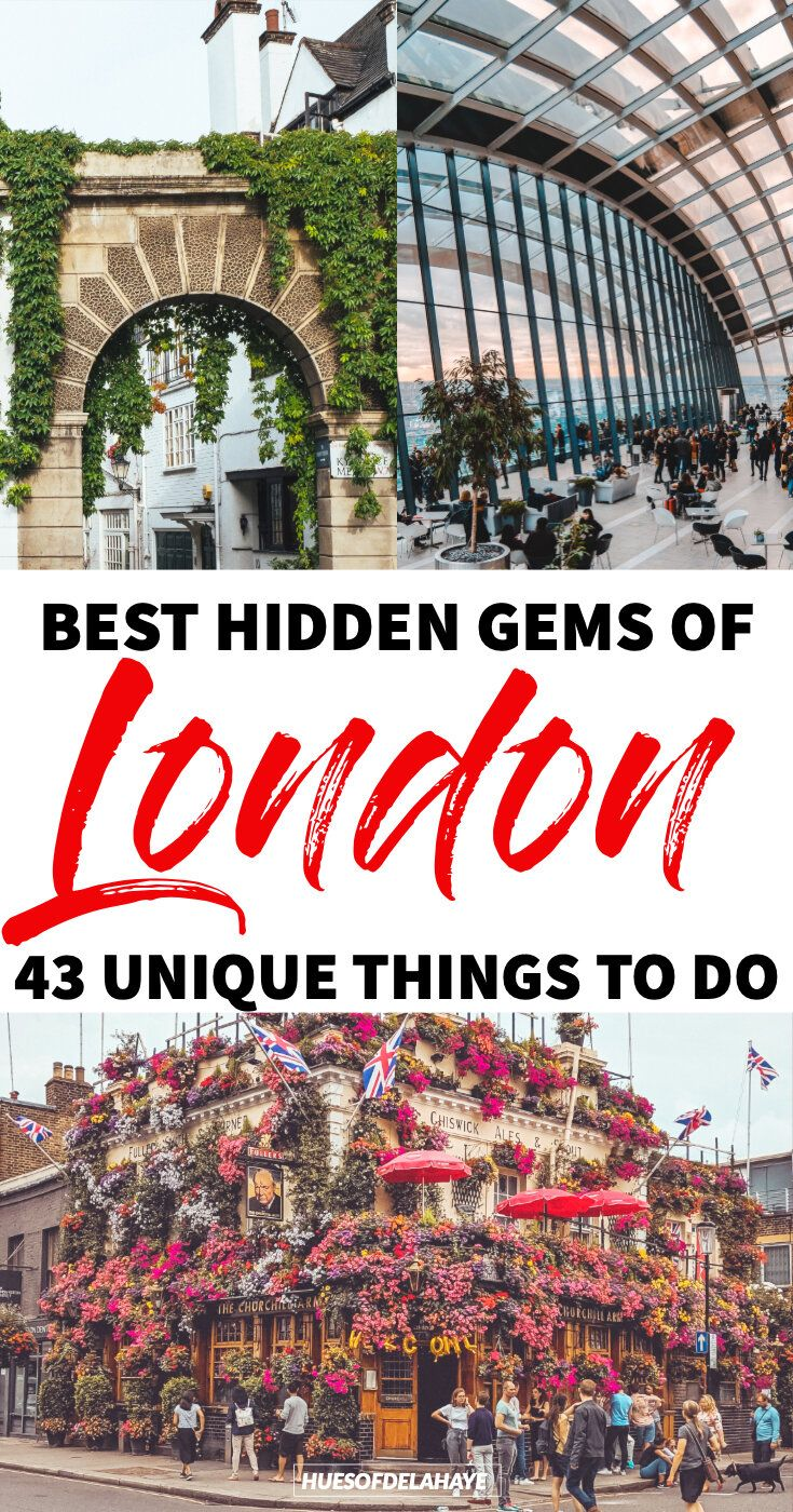 43 Quirky And Unusual Things To Do In London Reisen London Reise Und Kurztrip