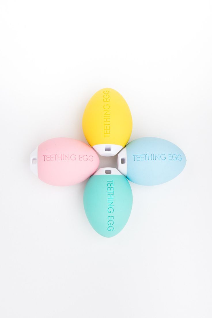 The Teething Egg® - Baby Pink Teething Toy -  The Teething Egg - 4