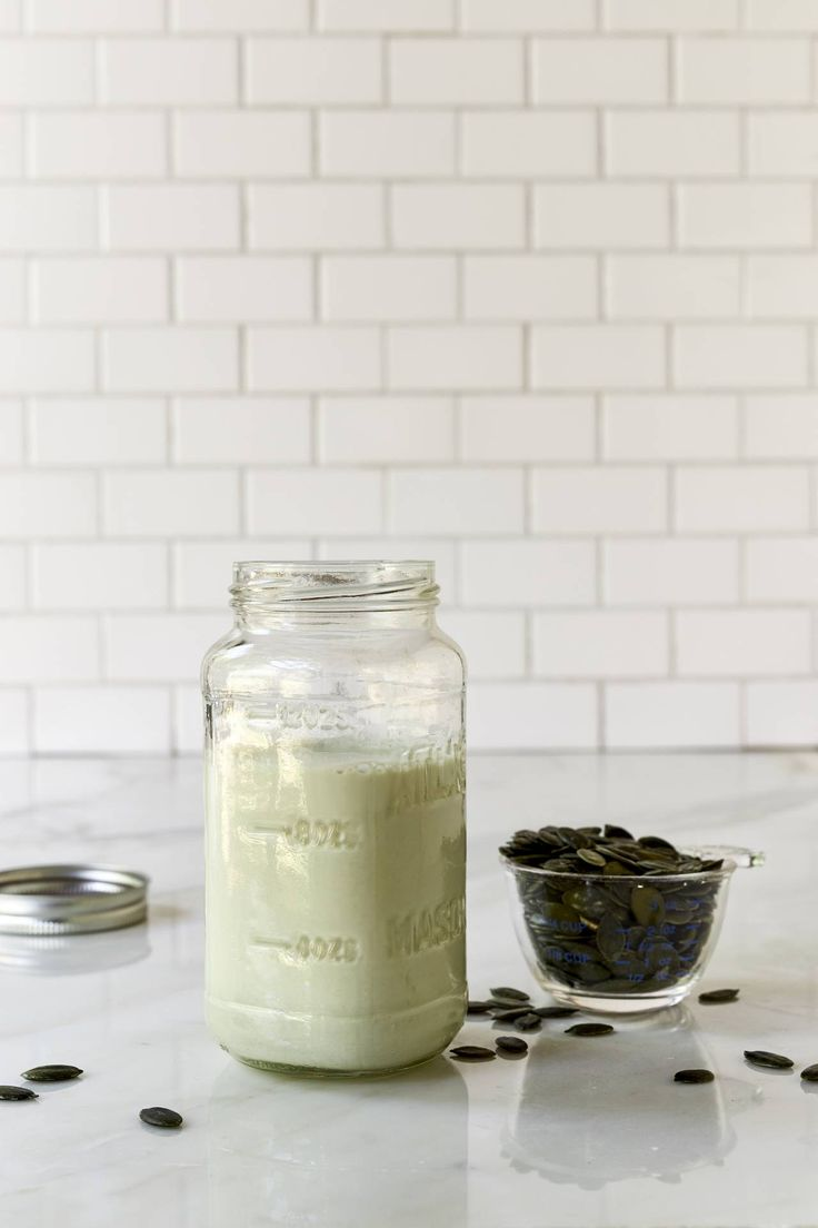 Perfect Pumpkin Seed Milk - Raw Pumpkin Seed Milk is easy to make and is delicious in smoothies, shakes, puddings, and desserts.