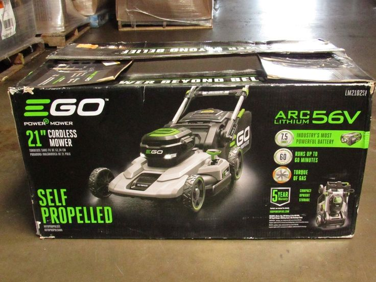 EGO 21 in. 56V Lithium-Ion Cordless Battery Self Propelled Mower Quiet Powerful