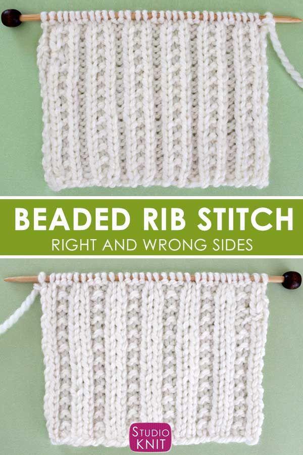 Hi Friends I've Knit A Beautiful Herringbone Stitch In The
