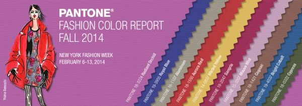 Pantone Announces NY Fashion Week's Top 10 Colors