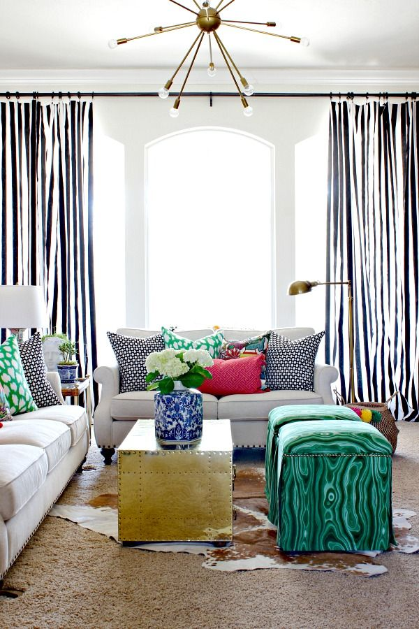 17 best ideas about striped curtains on pinterest big window curtains stripe curtains and. Black Bedroom Furniture Sets. Home Design Ideas