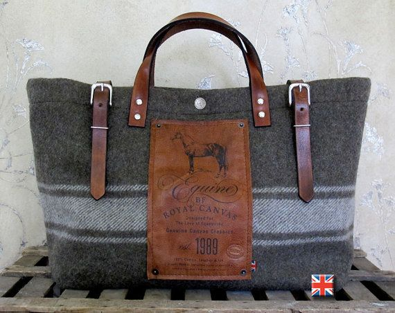 BF Equine Utility Bag by Bravura on Etsy, $220.00