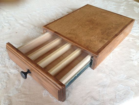 K Cup holder drawer Handcrafted Free Priority by JamesCBuck
