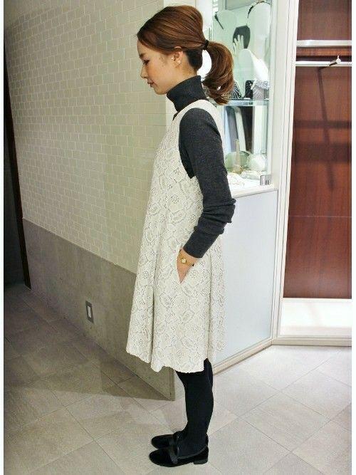 IENA横浜店(Le Dome)|イエナ横浜 スタッフさんのワンピース・ドレスを使ったコーディネート - ZOZOTOWN