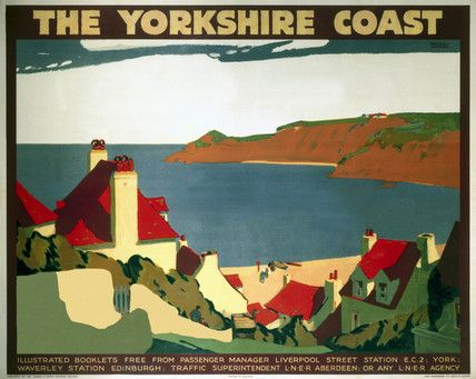 'The Yorkshire Coast', LNER poster, 1923-1947.