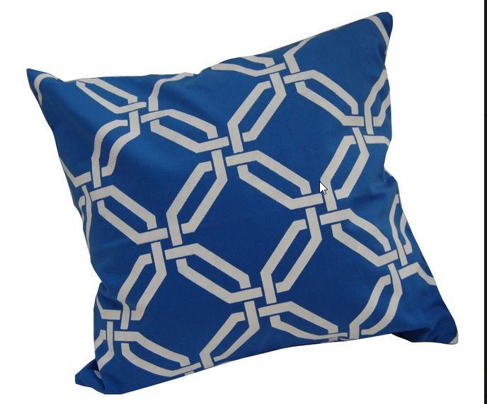 wzorem Marrakesz  sea blue