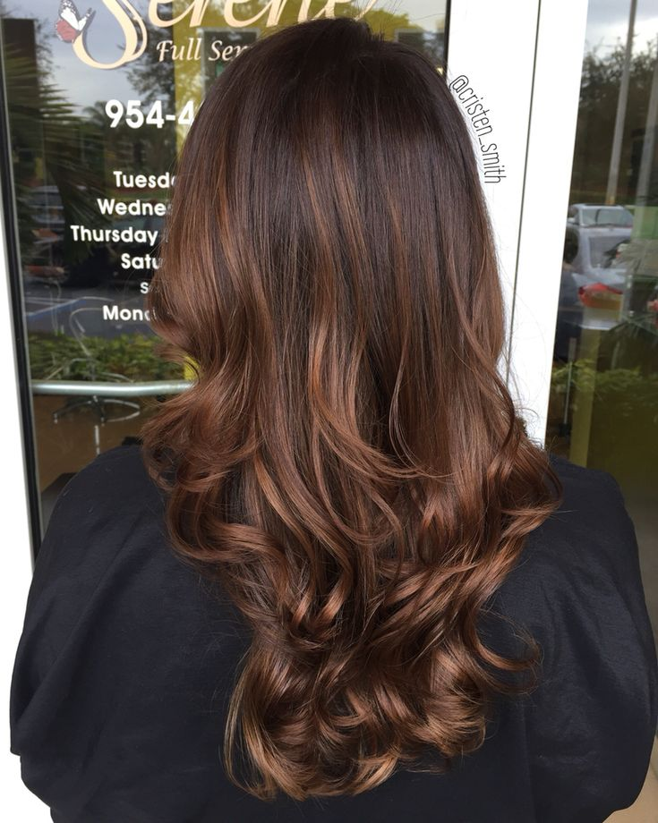 Chocolate mocha #hair #balayage #hairstylist                                                                                                                                                     Más