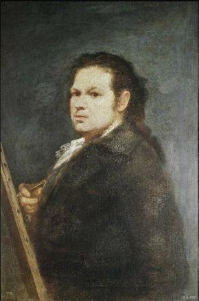 프랑스대혁명과 나폴레옹의 침략 이후로 광기로 가득찬 검은 그림 연작을 탄생시킨 스페인의 천재 화가