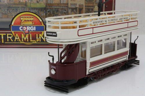 Corgi Tramlines C991 1 London County Council Tram Kashgar RD Excellent Boxed | eBay