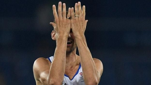At London 2012 Robbie Grabarz shared high jump bronze with Derek Drouin and Mutaz Essa Barshim. Now Drouin takes gold, Barshim silver, but Grabarz can only manage fourth. 16th August 2016