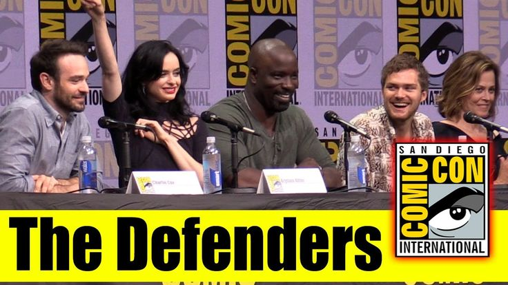Marvel's The Defenders | Comic Con 2017 Full Panel | Krysten Ritter, Charlie Cox, Mike Colter, Sigourney Weaver, Elodie Yung, Karen, Page, Elden Henson, & Deborah Ann Woll.
