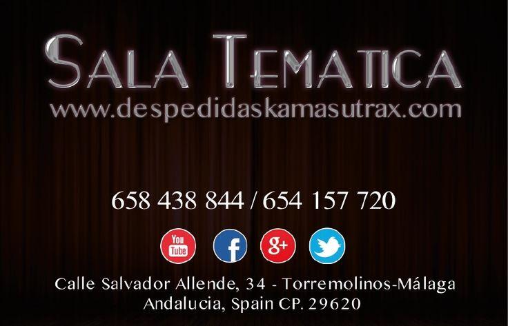 Tarjeta de visita para despedidas en Benalmadena para despedida de soltero soltera en Torremolinos Málaga