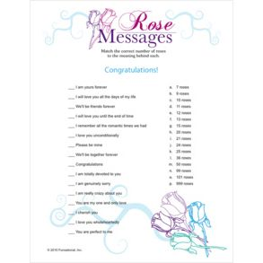 Bridal Shower Games Idea For FREE Get Traditional Game Ideas And Printable Games
