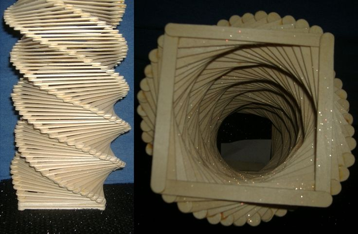 Popsicle Stick Sculpture By Art By Amanda Jpg 800 215 523