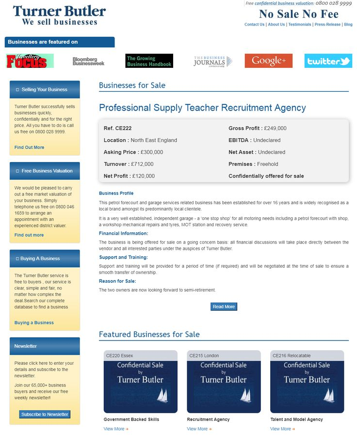 Are you interested in buying teacher recruitment agency businesses for sale from turnerbutler  This petrol forecourt and garage services related business has been established for over 16 years and is widely recognised as a local brand amongst its predominantly local clientele.  #turnerbutler #buyingabusiness #teacher #recruitment #agency #NorthEastEngland #sellingyourbusiness #businessesforsale #freebusinessvaluation #businesssales #sellingabusiness #UKbusinessbrokers #wesellbusinesses